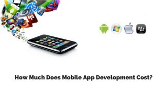 how much does mobile app development cost in India