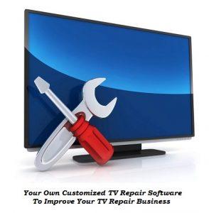tv repair software solutions