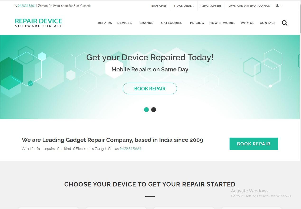 cell phone repair demo