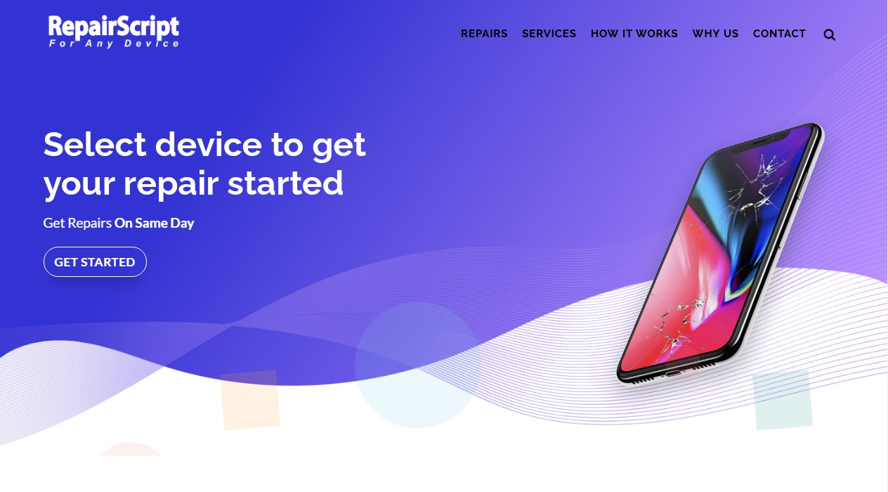 cell phone repair website